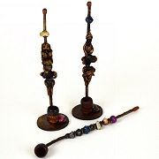 Hand Crafted FIGURINE Resin Smoking Pipes