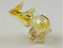 Gold Fumed Rhino Pipe