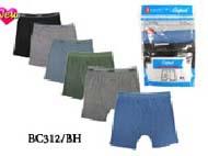 Boy's  100% Cotton Boxer Briefs #BC312/BH