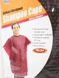 SHAMPOO Cape - Deluxe Designed - Dream - Black - #3081