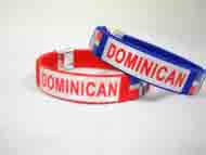 BANGLE-Dominican-Red and Blue-#YG-1198  #RJW-136DM