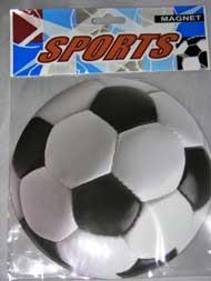 Car Magnetic Ribbon-SOCCER Ball - Round - #11969 or JCN0035B