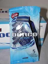 Disposable RAZORs - ''Dorco'' - Twin Blade - 5x20 - #TD708N #TG708N