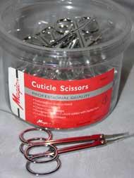 Cuticle Scissors - 48pcs/Canister - #NC509 #GS01J