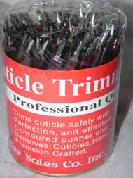 Cuticle Trimmer - 72pcs/Canister - #NC506