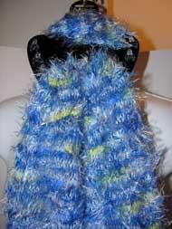 Magic Scarf - CANDY/Popcorn -Blue Multi -CLOSEOUT SALE-#R608G032C
