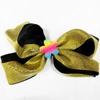Duck Clip-BOW with Silver/Gold -Color Asst-#HR-119
