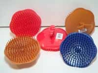 SHAMPOO Brush - Apple Design - Asst.Color - #G8555