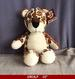 SOFT PLUSH TOY LEOPARD