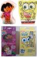 (G) DORA The Explorer and Square Pant shower products