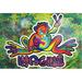 PEACE FROGS PAPER POSTER
