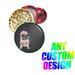 Designer's Titanium Grinder Pug With Pink DRESS