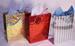 GIFT BAG HOLOGRAM - GOLD - LARGE - 13''x10''5.5''