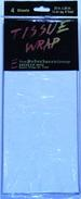 PEARLIZED BLUE TISSUE PAPER RESALE 4 SHEET PACK