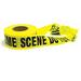 CRIME SCENE - DO NOT CROSS - barricade TAPE practical joke prop