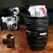 CAMERA DIGITAL Lens - Beer Can Cooler Foam Koozie