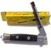 Push Button Pocket Comb Fake Switch Blade Folding KNIFE Knives