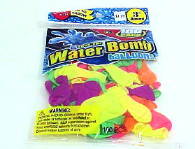 WATER BOMB BALLOONS 100 PACK