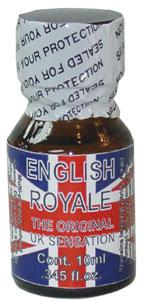 English Royale NAIL POLISH Remover 10ml bottle