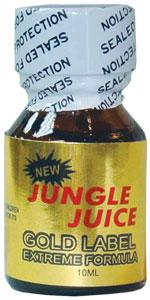 Jungle Juice GOLD NAIL POLISH Remover 10ml bottle