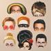 Musical Icons Masks