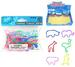 ZOO ANIMALS SILLY RUBBER BANDS  * CLOSEOUT * NOW ONLY .25 CENTS E
