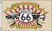 CLASSIC ROUTE 66 CAR 3 X 5 FLAG