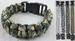 CAMOFLAUGED SOLID PARACORD BRACELETS