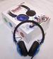 BLUE COLOR BLAST DJ STEREO HEADPHONES -* CLOSEOUT ONLY $ 2.50 EA