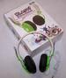 GREEN  COLOR BLAST DJ STEREO HEADPHONES -* CLOSEOUT ONLY $ 2.50 E