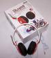 RED COLOR BLAST DJ STEREO HEADPHONES -* CLOSEOUT ONLY $ 2.50  EA