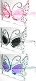NEW BUTTERFLY JEWELS PARTY EYE GLASSES