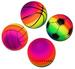 RAINBOW SPORTS 9 INCH ASSORTED BALLS