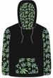 POT LEAVES MARIJUANA HOODIE