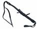 DELUXE BLACK MEXICO LEATHER HORSE RIDING CROP