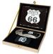 ROUTE 66 KNIFE WITH LIGHTER IN BOX