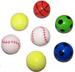 LARGE SPORTS HIGH BOUNCE 45MM BALLS  *- CLOSEOUT 50 CENTS EACH