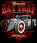 RAT TRAP VINTAGE CAR BLACK SHORT SLEEVE TEE SHIRT