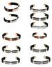 LEATHER WRAPPED COPPER MAGNETIC BRACELETS