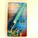 GREEN ONE COLOR LIGHT UP STICK - * CLOSEOUT NOW ONLY 25 CENTS EA