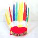 WARRIOR CHIEF FEATHER HEADBAND