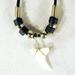 SHARK TOOTH ROPE NECKLACES