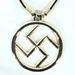 NAZI SIGN ROPE NECKLACE