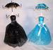 UMBRELLA DRESS JEWELRY DISPLAY RACK -* CLOSEOUT ONLY 5.00 EA