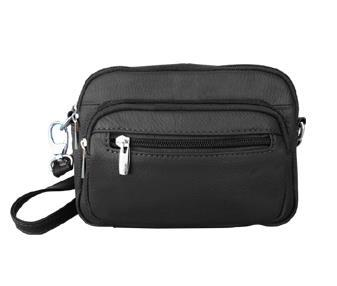Compact LEATHER Purse-Black $7.15 up