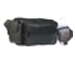 Fanny Pack w/ CELL PHONE & Water Bottle Holders - Black $5.25 up