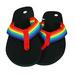 Gay Pride FLIP FLOPS Sandals by the Dozen