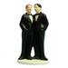 Gay Mens WEDDING Cake Topper