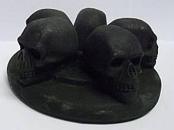 Mini Skull Head CANDLE Holder