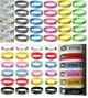 World Countries Silicone Jelly Rubber WRISTBANDs/bracelets